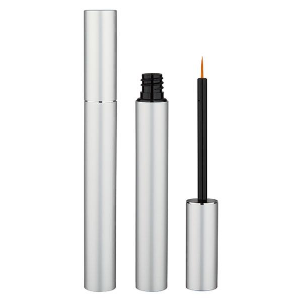 Matte-Silver Aluminum Empty Eyeliner Cases Refillable Eyelash Growth Liquid  BE005