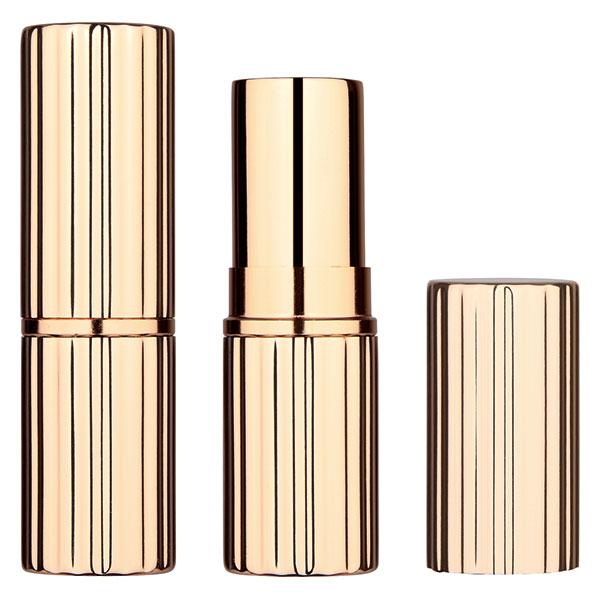 gold striped lipstick tube BL7240