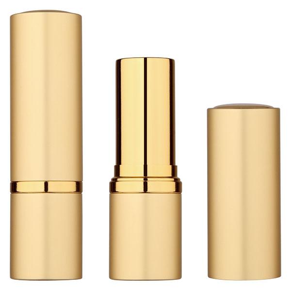 round gold lipstick tube BL7255